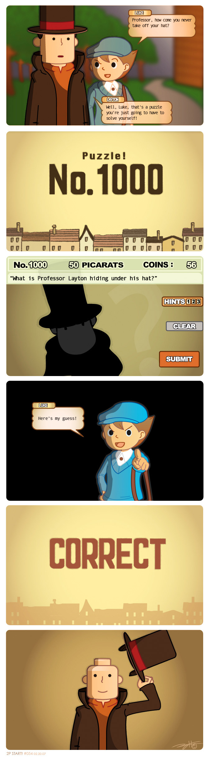Professor Layton and the Permanent Top Hat