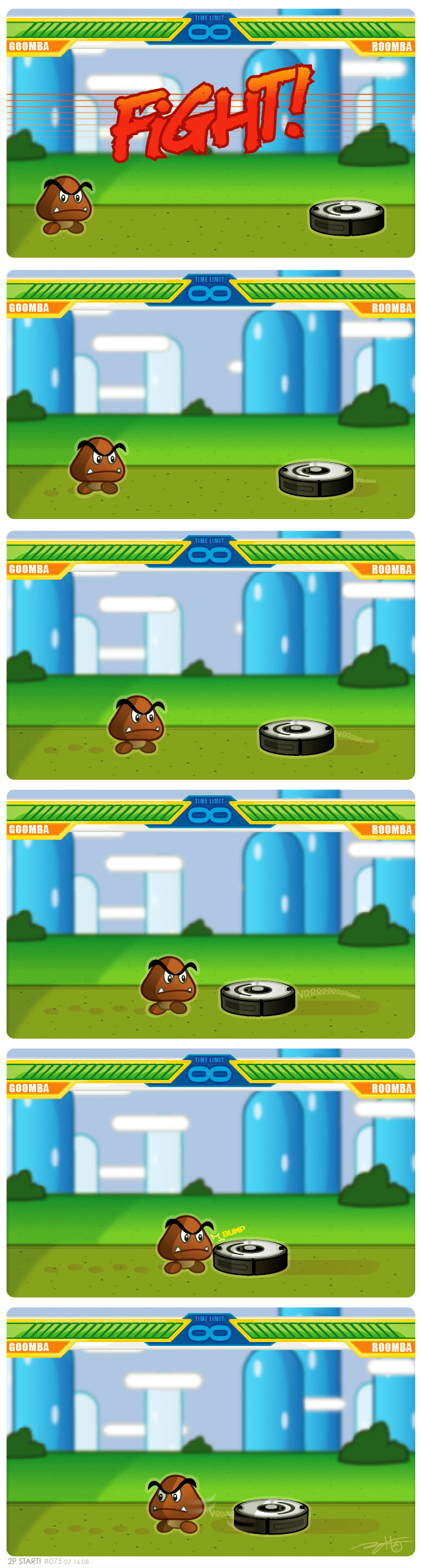 Goomba vs. Roomba