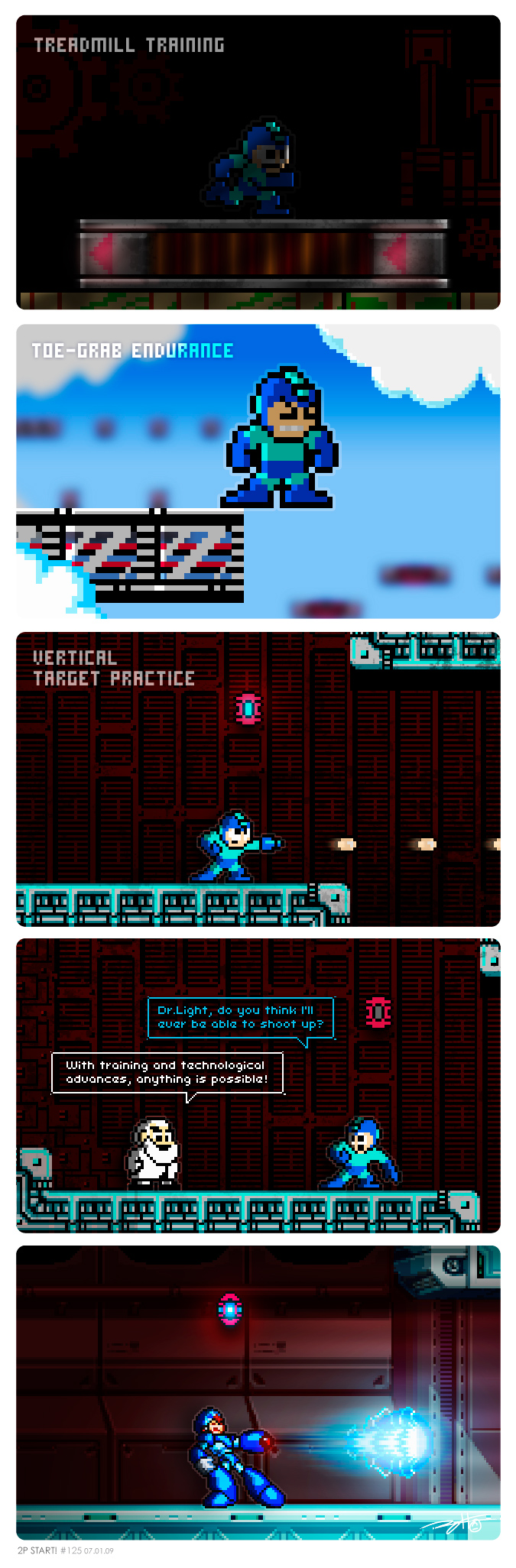 Mega Man's Workout