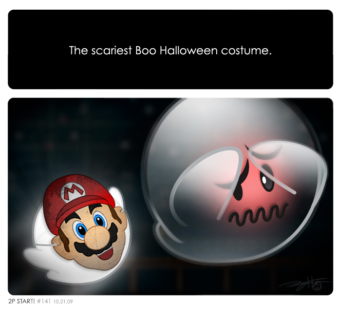 Scariest Boo Costume